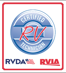 Mobile RV Repair RVIA RVDA certification
